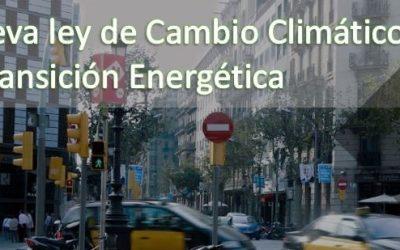 Nueva ley de cambio climático: adaptación de empresas y ayuntamientos